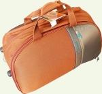Сумка колесная SUMMIT 3/1 средняя оранжевая\светло-коричневая